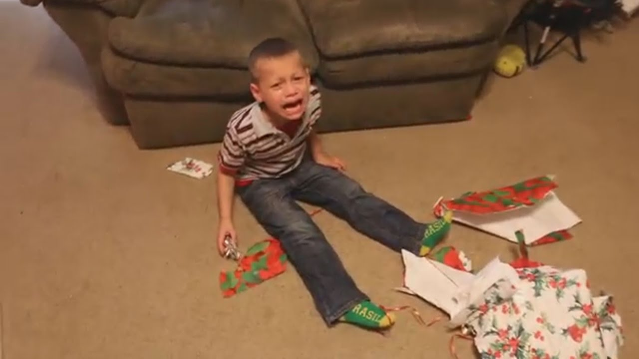 What happens when kids receive ugly Christmas presents and gifts ...